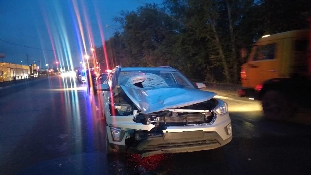 Пожилой новосибирец на кроссовере насмерть сбил пешехода