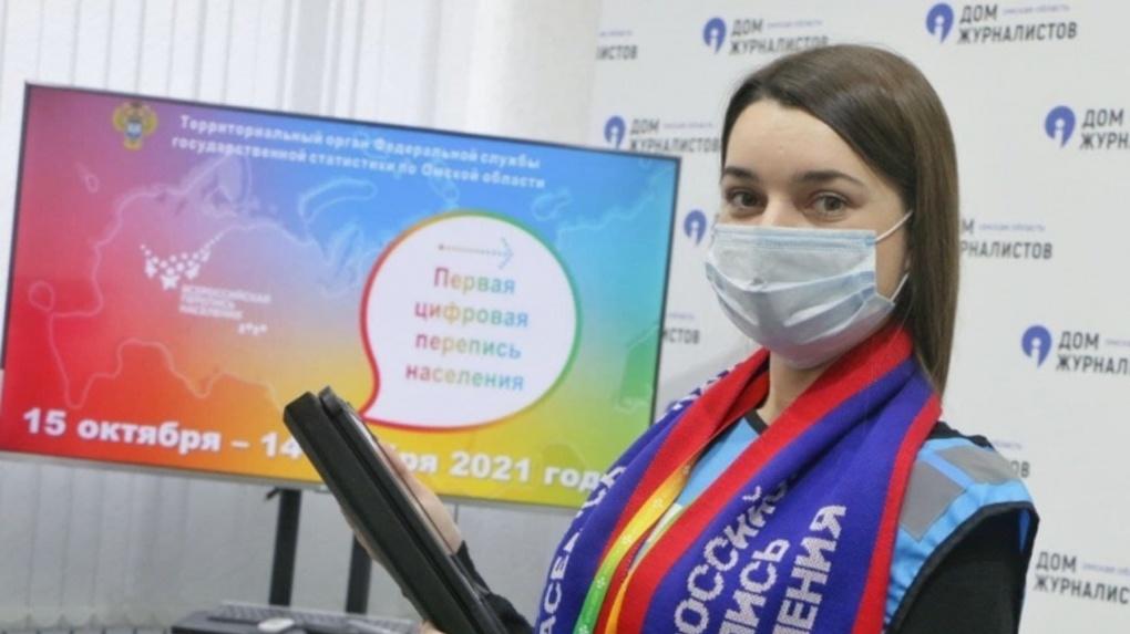 Омские переписчики за месяц пройдут 900 тысяч жилых квартир и домов