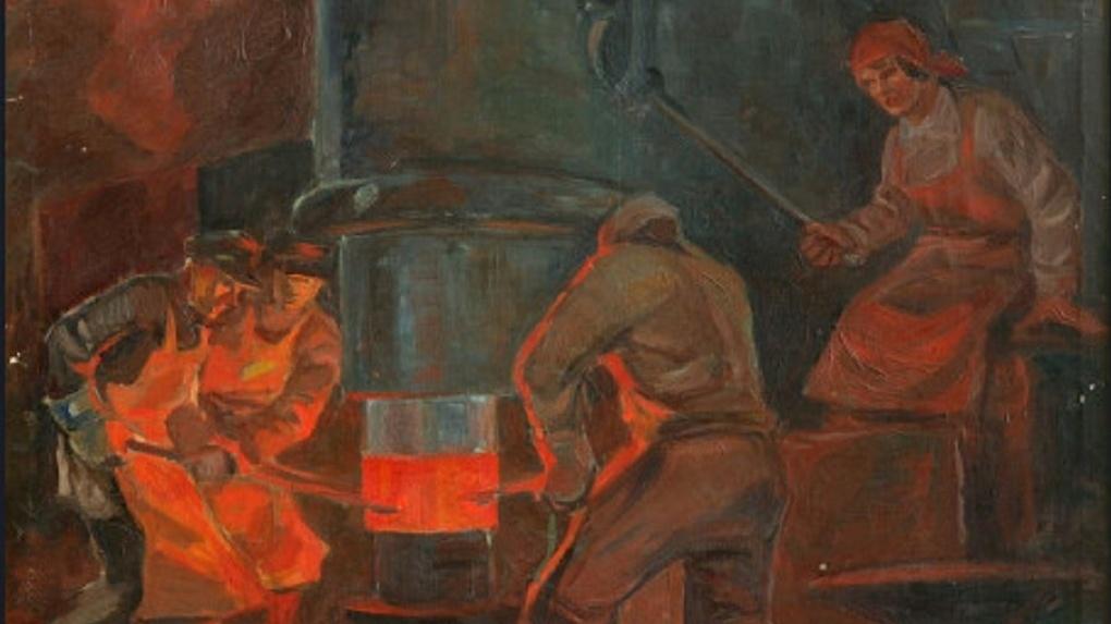 В Новосибирском музее открылась выставка, посвящённая ударникам труда