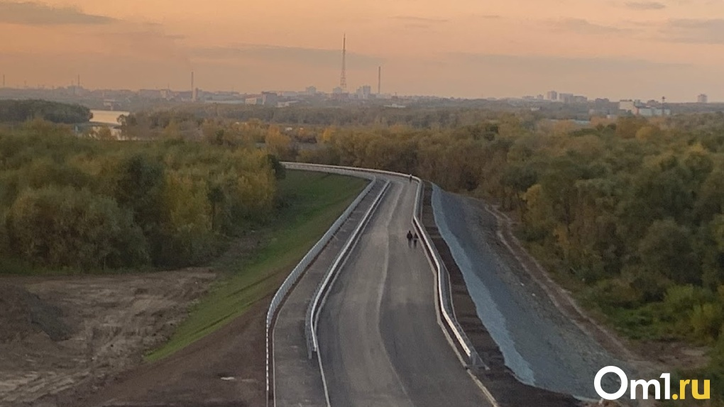 Строительство дороги «за миллиард» в Омске выходит на финишную прямую