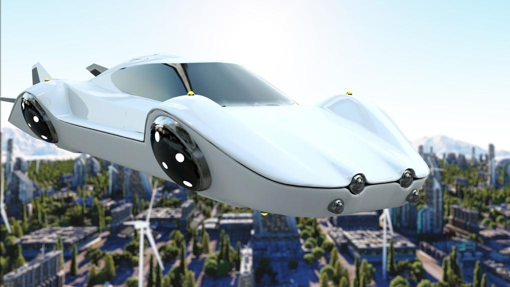 этой летающий автомобиль фото самодостаточности, ловкости бесстрашии