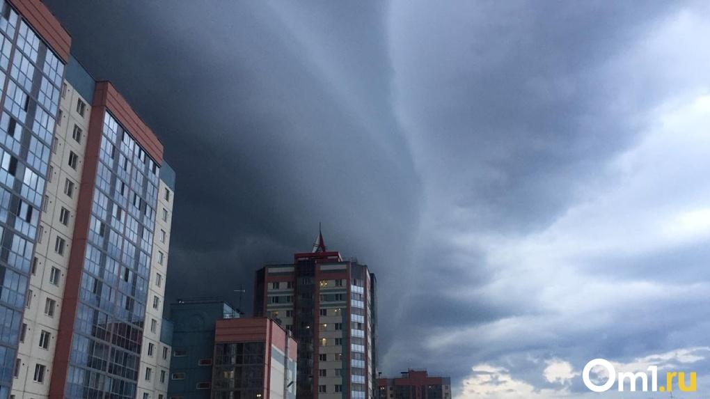 Гроза ударит по Новосибирску в начале предстоящей недели