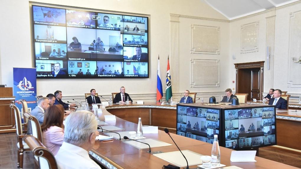 Жители Новосибирской области выберут место размещения стелы «Город трудовой доблести»