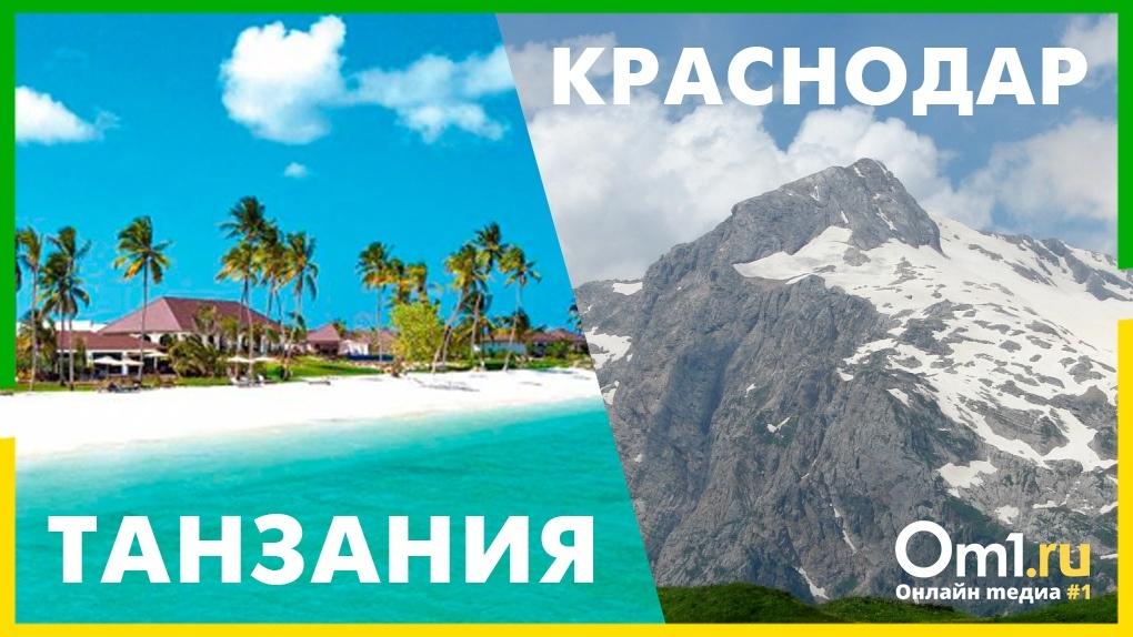 В Сочи или в Занзибар: топ мест для новогодних путешествий из Новосибирска