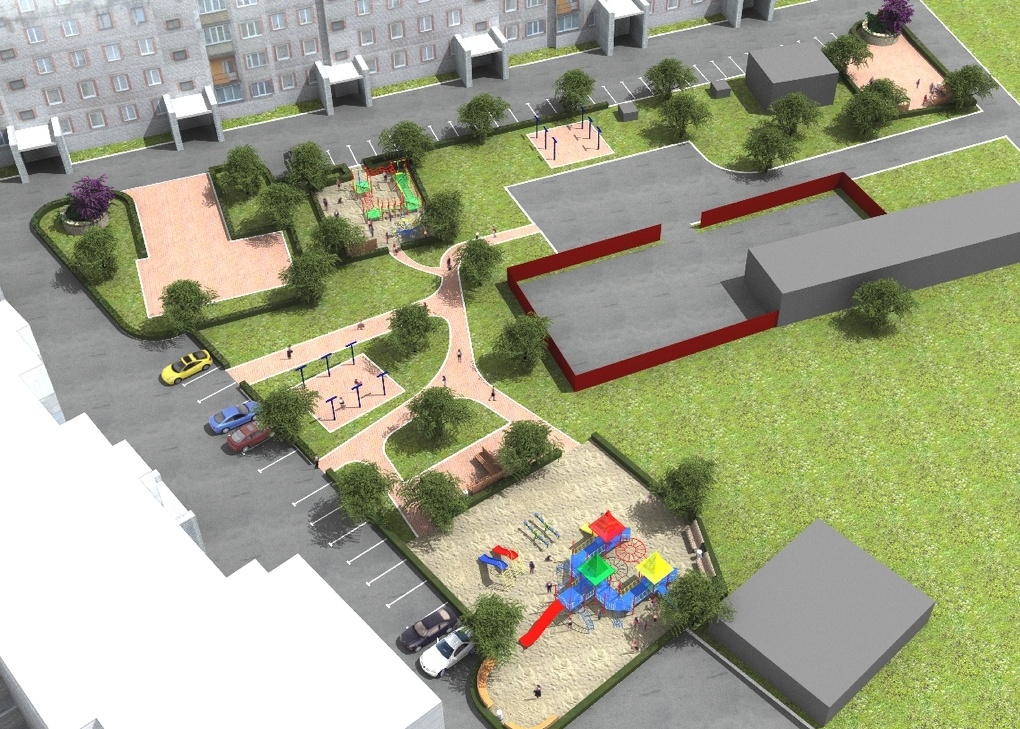 Дворовые «войны» в Омске: парковка vs детская площадка