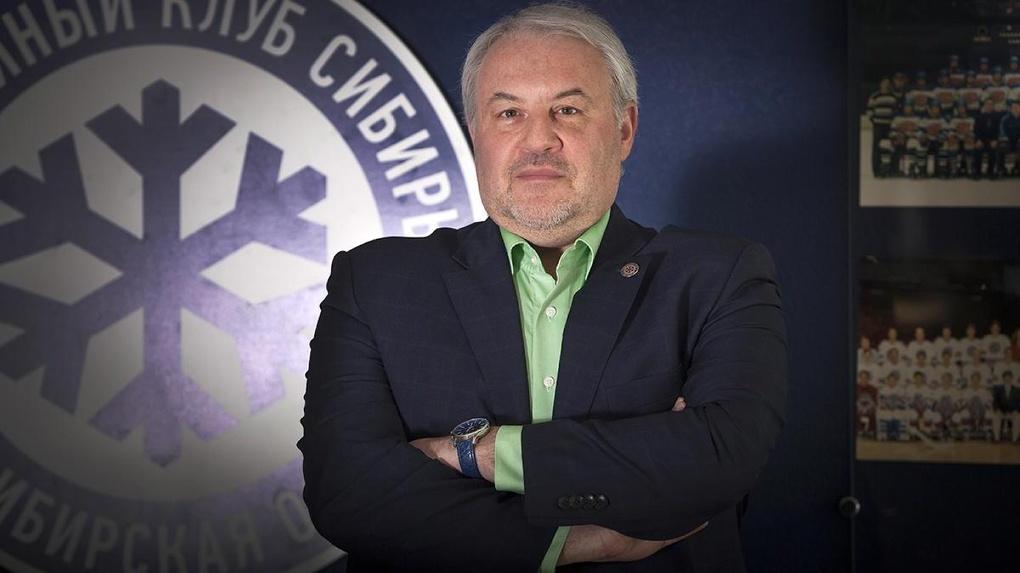«Сидим на пороховой бочке и трудимся»: генеральный менеджер ХК «Сибирь» заявил о переносе матчей