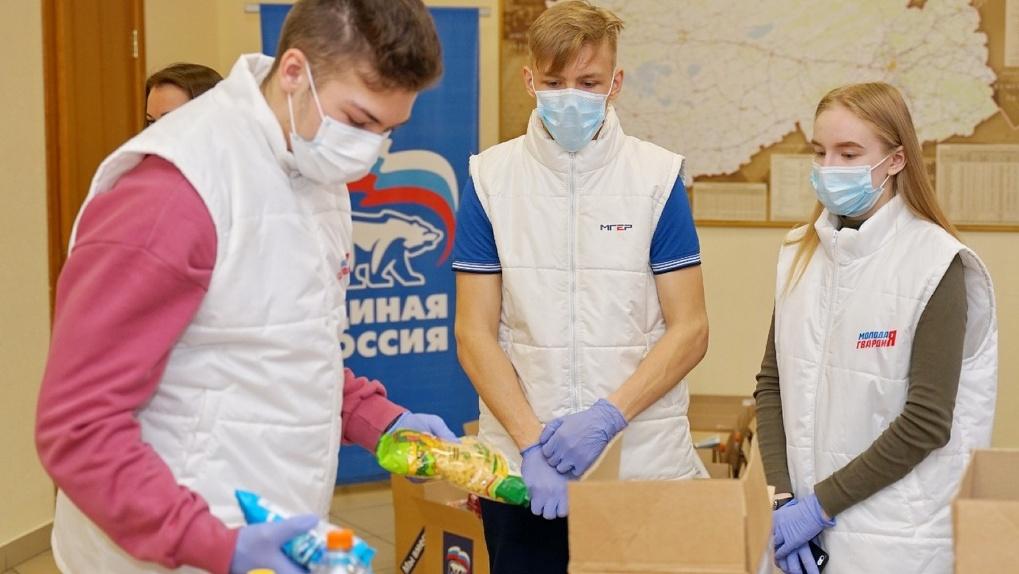 Волонтеры будут помогать жителям Новосибирской области до спада пандемии