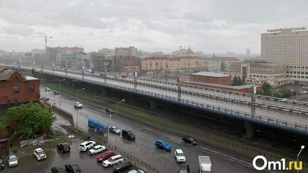 Стало известно, когда в Омск придут дожди и грозы