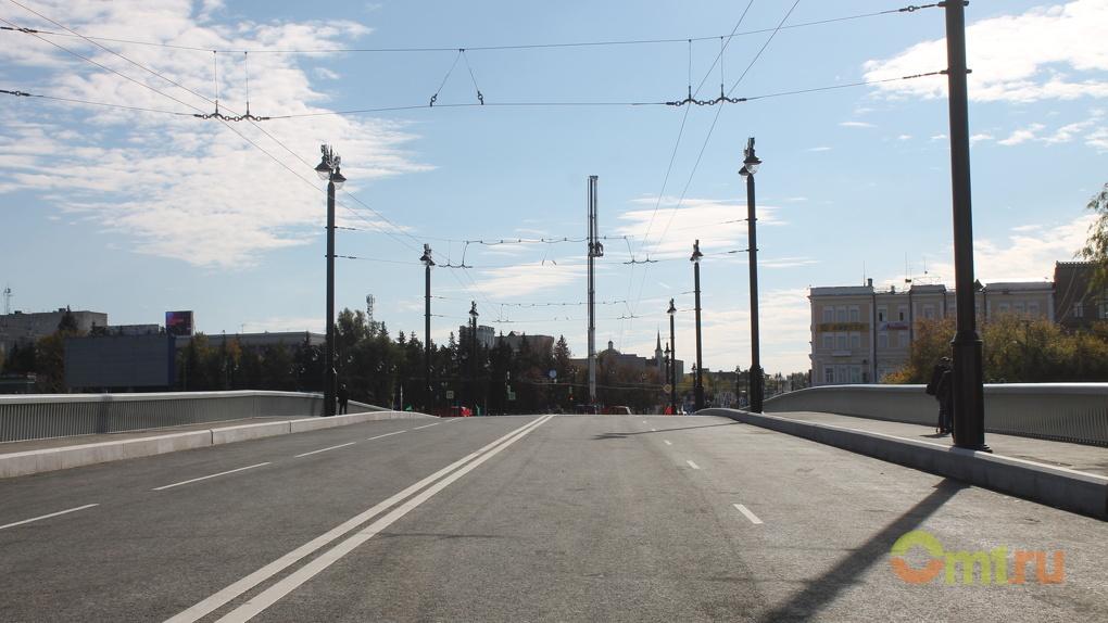 После открытия омского Юбилейного моста изменились схемы движения