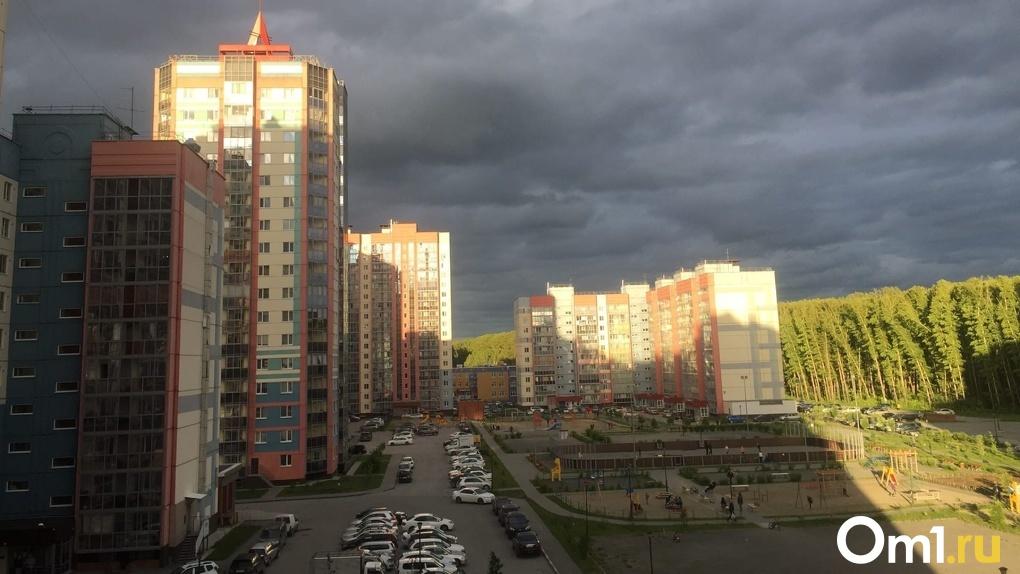 Ураган с грозой надвигаются на Новосибирскую область