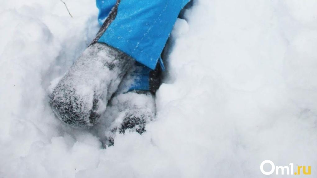 Был слышен плач ребенка. Под Омском маленький пассажир застрял в снежном плену