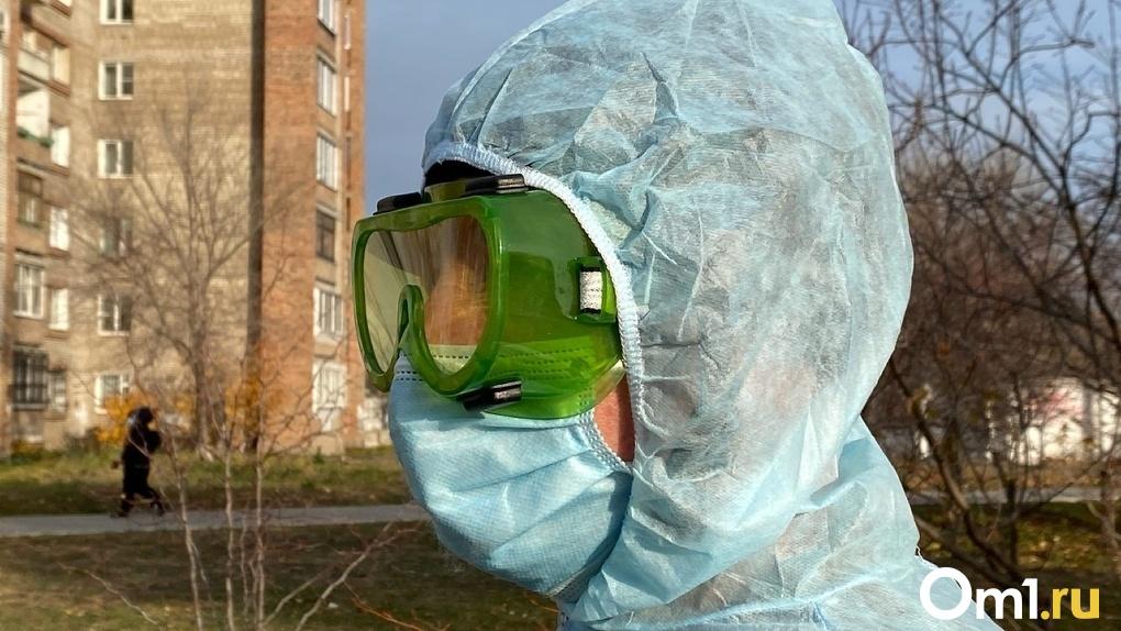 За сутки ещё у 220 омичей подтвердили коронавирус