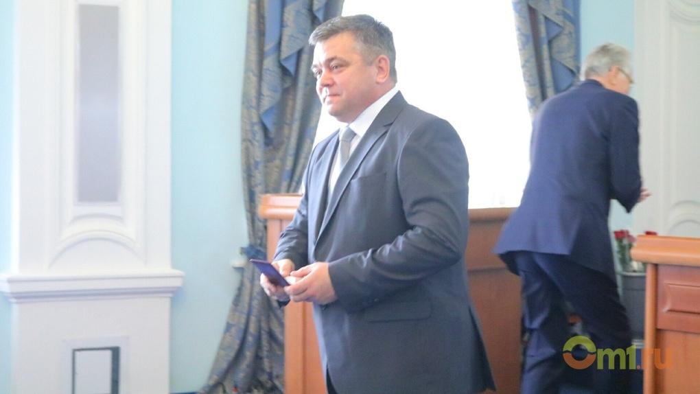 Вместо Назарова депутатом Заксобрания от Единой России в Омске назначили Ермакова