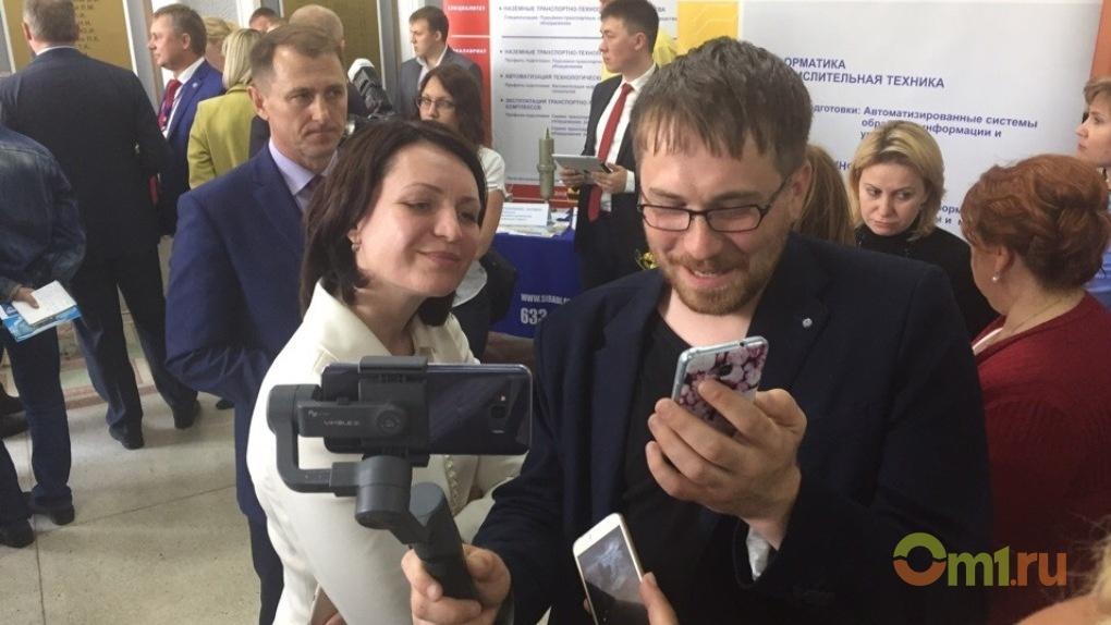 Оксана Фадина ворвалась в стрим омского блогера