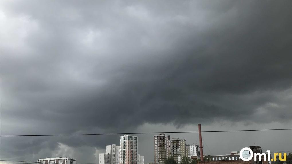 Штормовое предупреждение: на Новосибирск надвигаются грозовые дожди