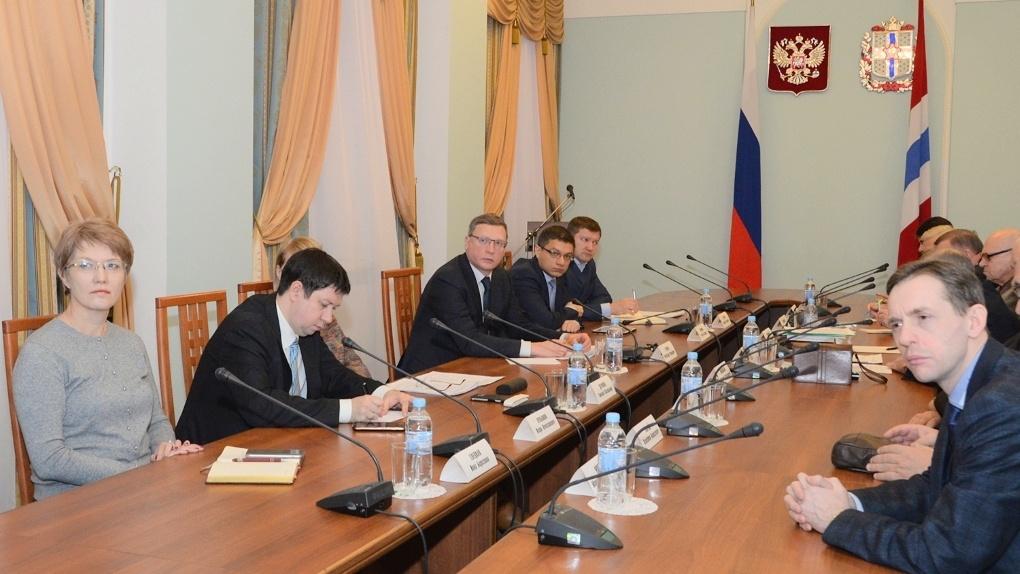 Омские ученые обсудили с Бурковым приоритетные научные исследования