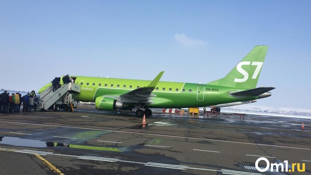 Самолёт из Новосибирска экстренно сел в Тюмени из-за плохого самочувствия пассажирки