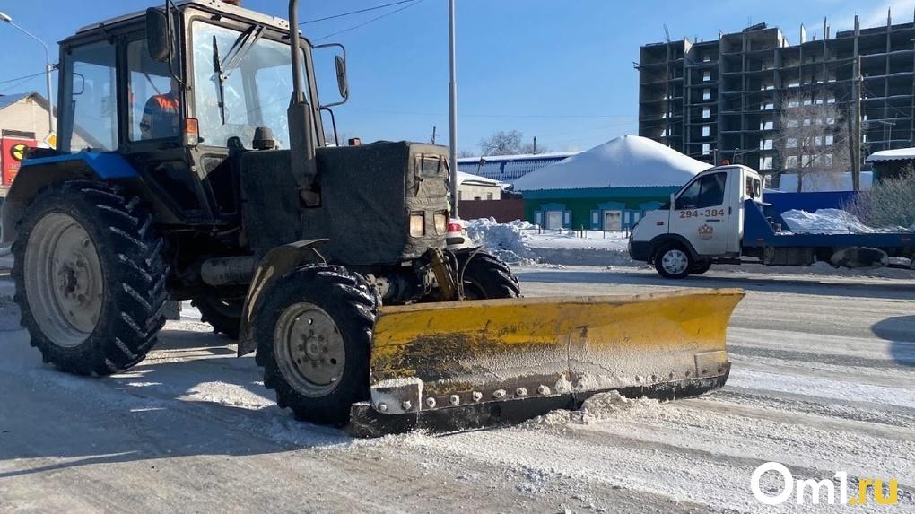 Омичам предлагают получить бесплатные талоны на вывоз снега