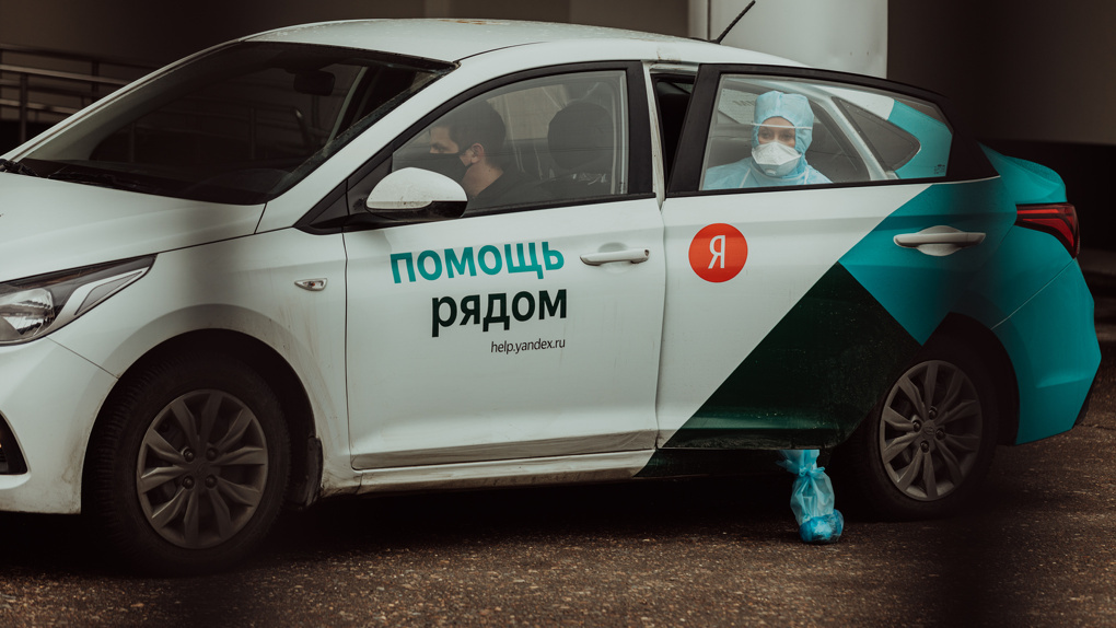 Омские врачи бесплатно проехали на такси почти 10 тысяч раз
