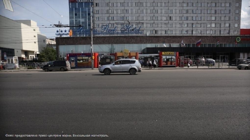 Часть парковочных карманов оставят на Вокзальной магистрали в Новосибирске