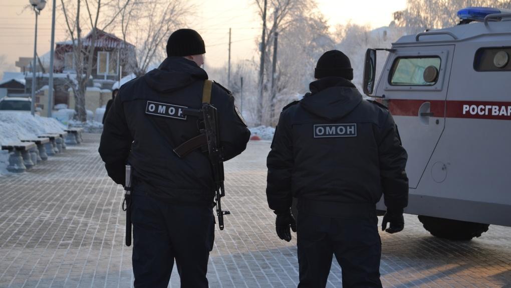 Омский ОМОН задержал двадцать четыре мигранта