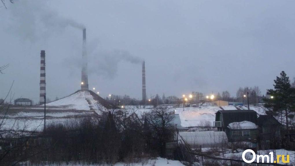 В атмосфере Омска зафиксировали превышение концентрации этилбензола