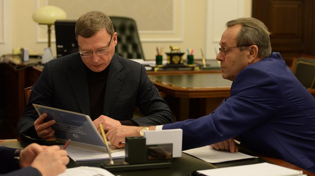 Бурков обеспокоен спадом объемов производства на омском заводе «Полет»