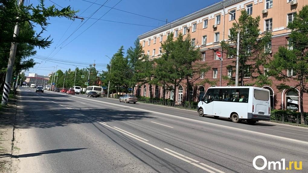 В Омске до 1 октября перекроют две улицы в центре