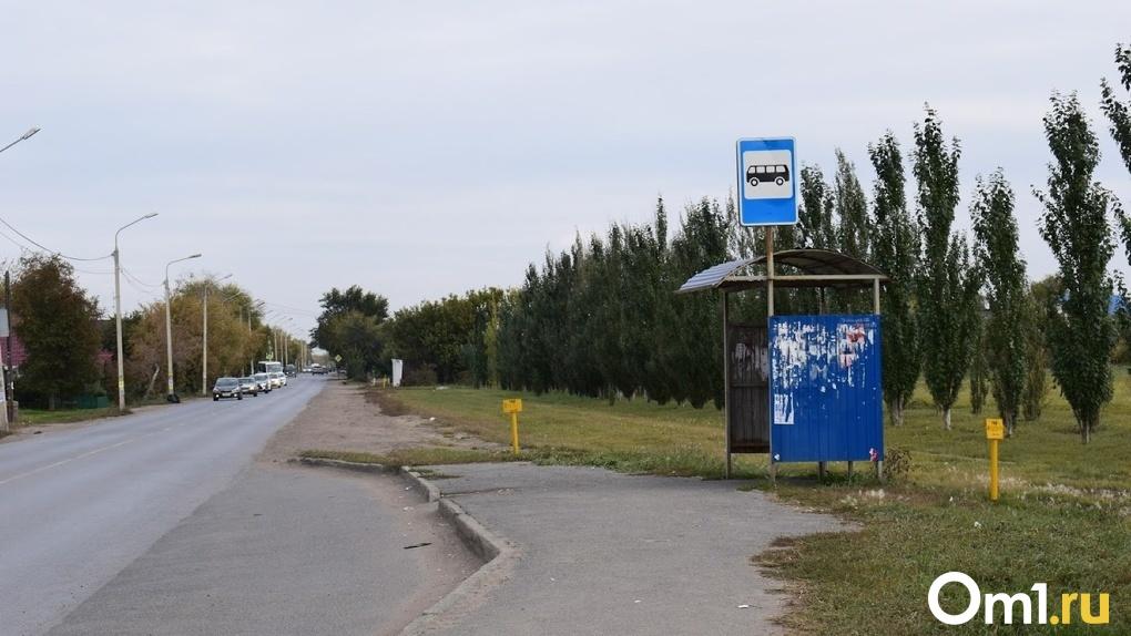 Жители одного из районов Омска могут остаться без остановки