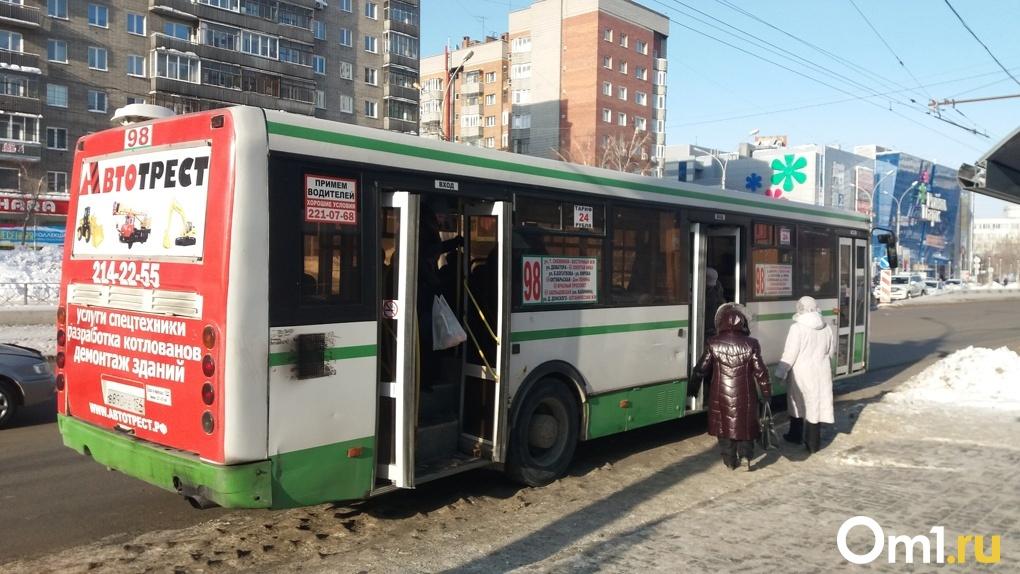 Мэр Новосибирска рассказал, как будут работать автобусы в новом году