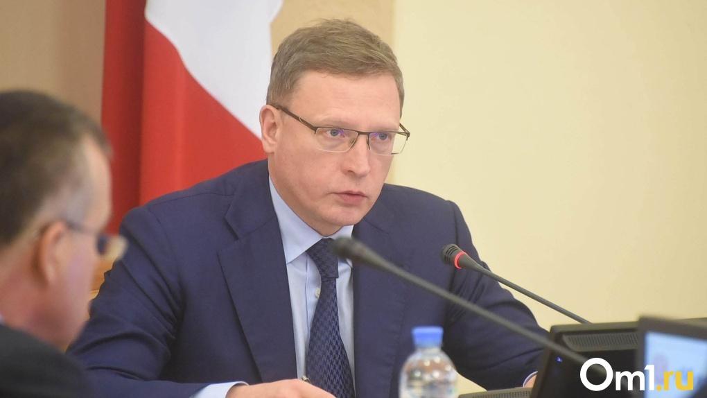 Бурков потребовал разобраться с подтоплениями Омской области