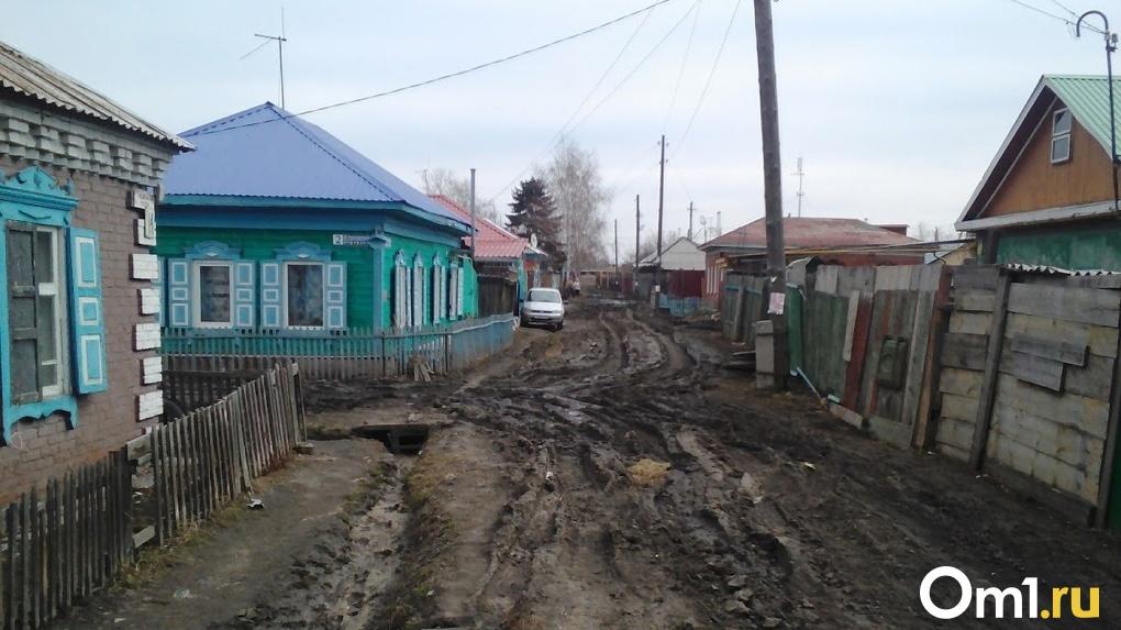 Частный сектор в Омске назвали деревней в центре города