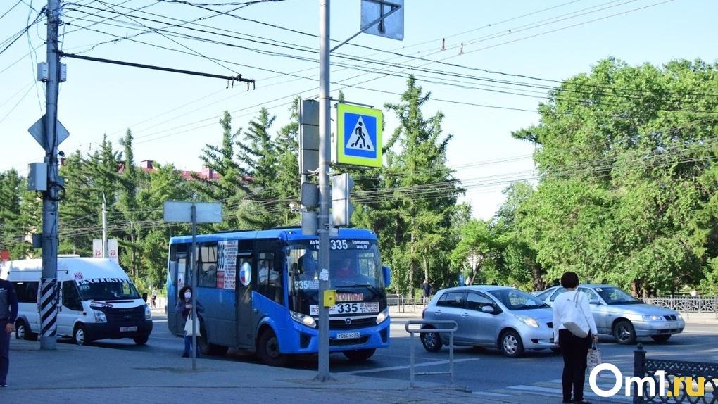 В Омске выделят отдельные полосы для общественного транспорта