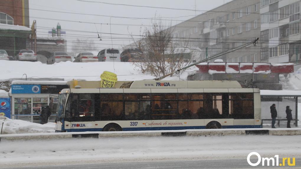 Десятилетние троллейбусы из Твери выйдут на линию в Новосибирске в конце сентября