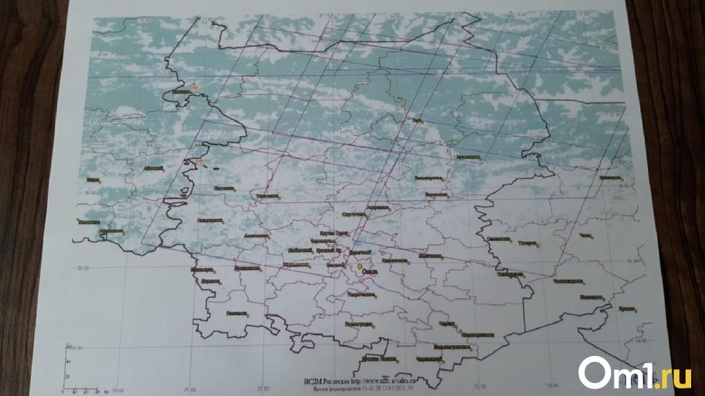 Пожары в Омской области не утихают уже две недели. Где в регионе очаги возгорания прямо сейчас? КАРТА
