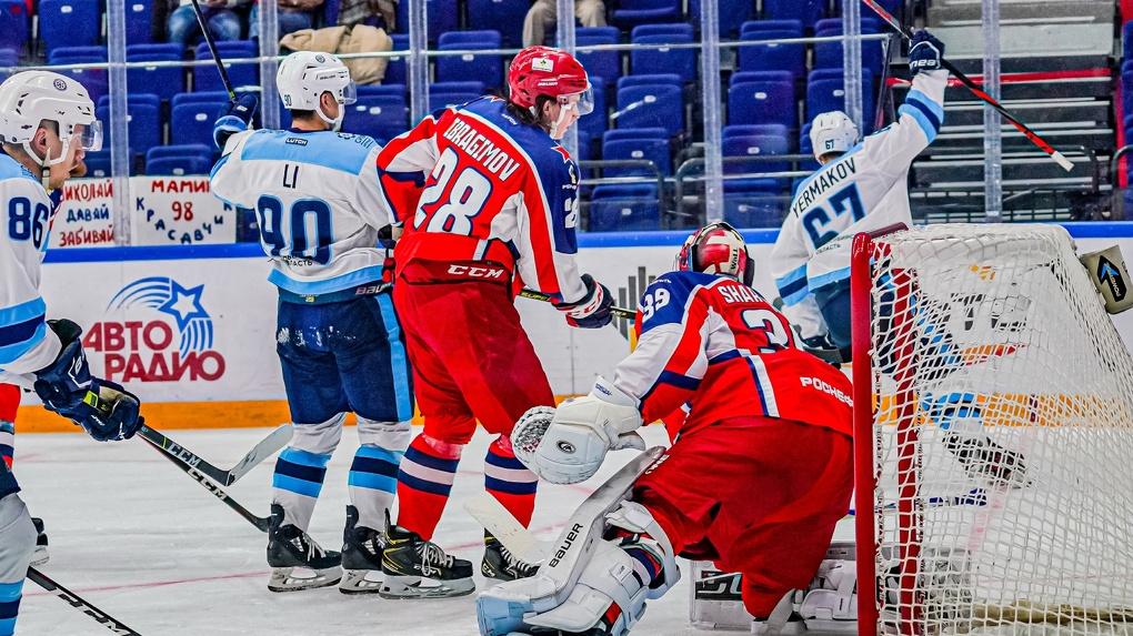 Новосибирская «Сибирь» впервые с 2010 года в гостевом матче обыграла ЦСКА