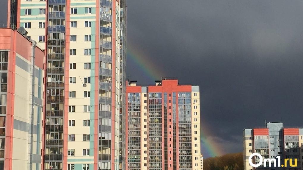 Мощный ливень и штормовой ветер надвигаются на Новосибирск