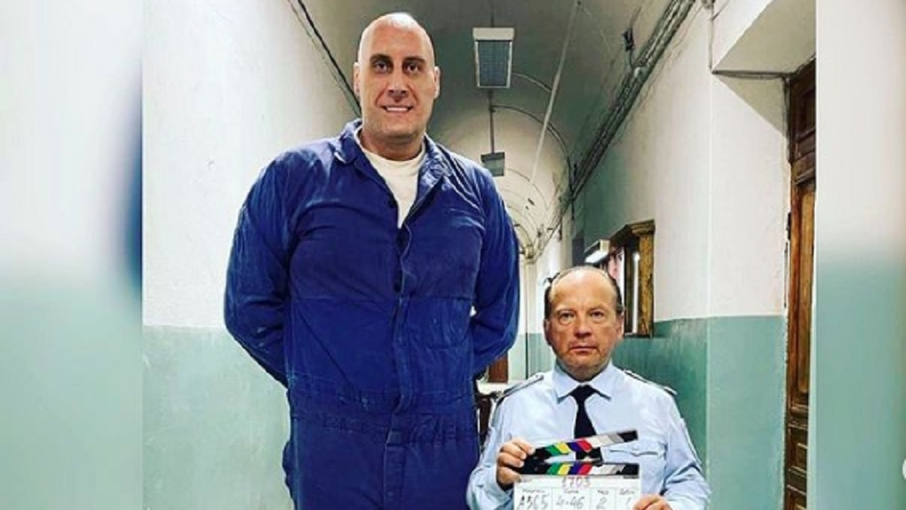 Великан из Новосибирска Павел Подкользин снимается в сериале вместе со звёздами кино
