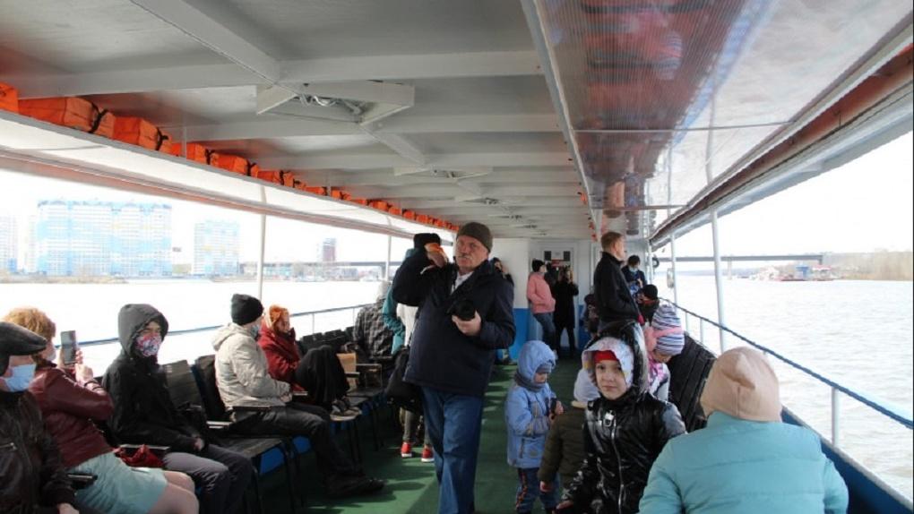 В Новосибирске открыли пассажирскую навигацию по Оби