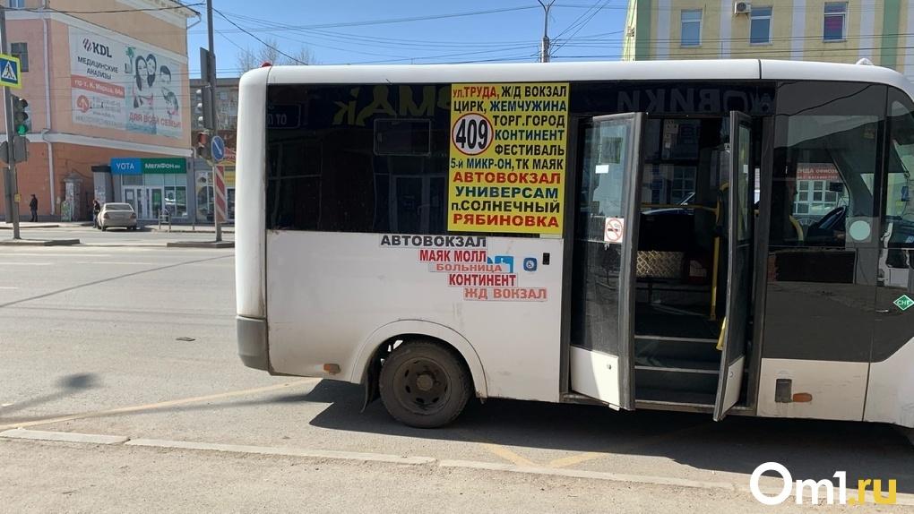 Омские маршрутчики дезифинцируют салоны собственными силами