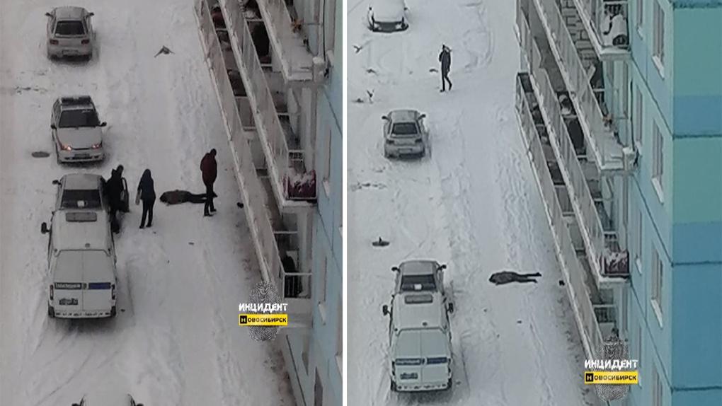 В Новосибирске девушка разбилась насмерть при падении с высоты девятого этажа