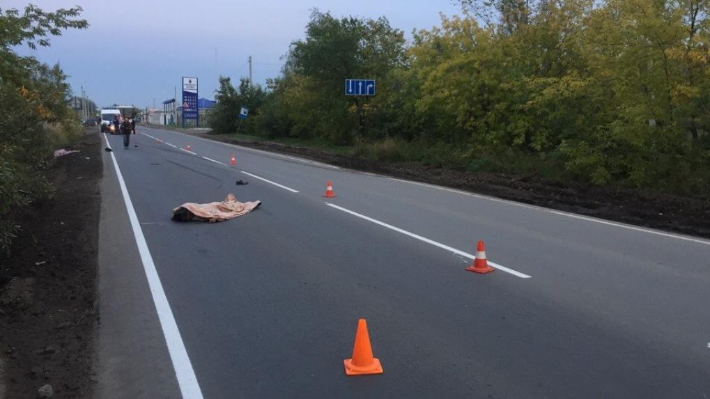 Омич сбил двух пешеходов, а потом переехал через труп — ВИДЕО