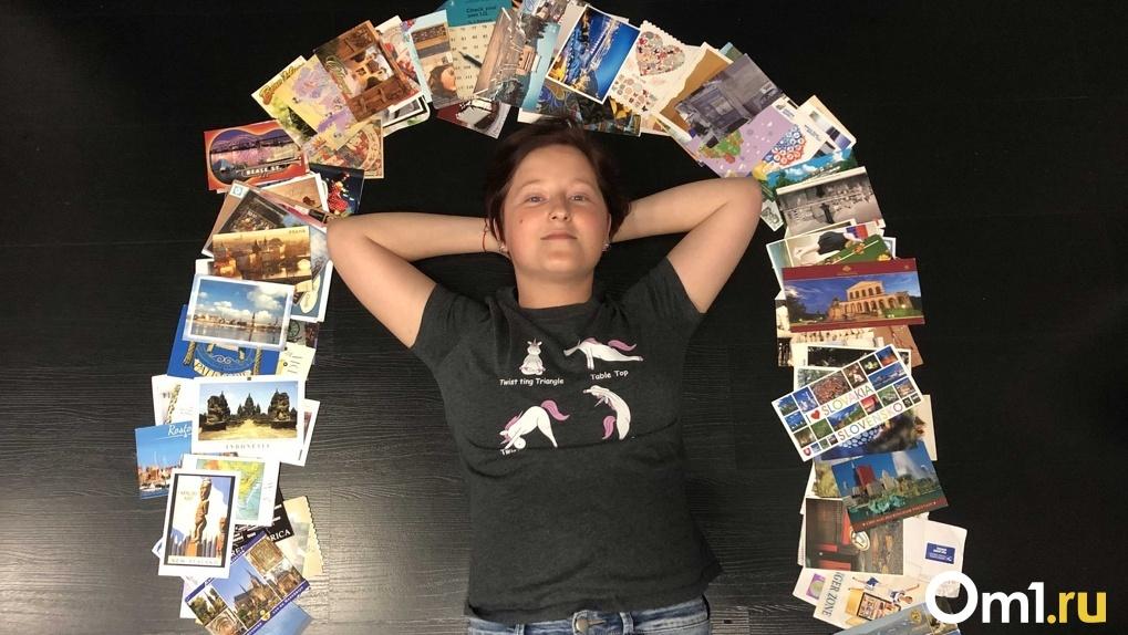 «Иди в баню», «Блин», «Как сам?»: жительница Новосибирска удивляет весь мир необычными посланиями