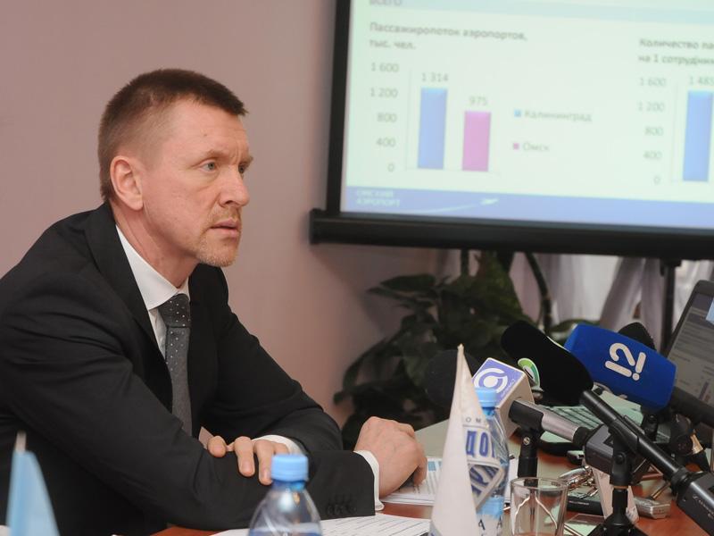 Гендиректор ОАО «Омский аэропорт» отправлен в отставку