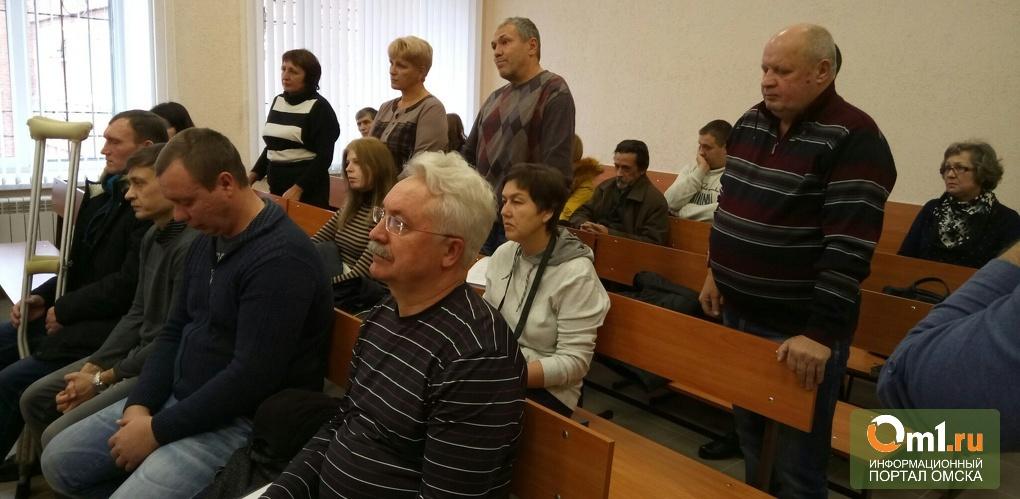 Застройщик Полукаров в последнем слове заявил, что в падении крана в Омске виновен не он