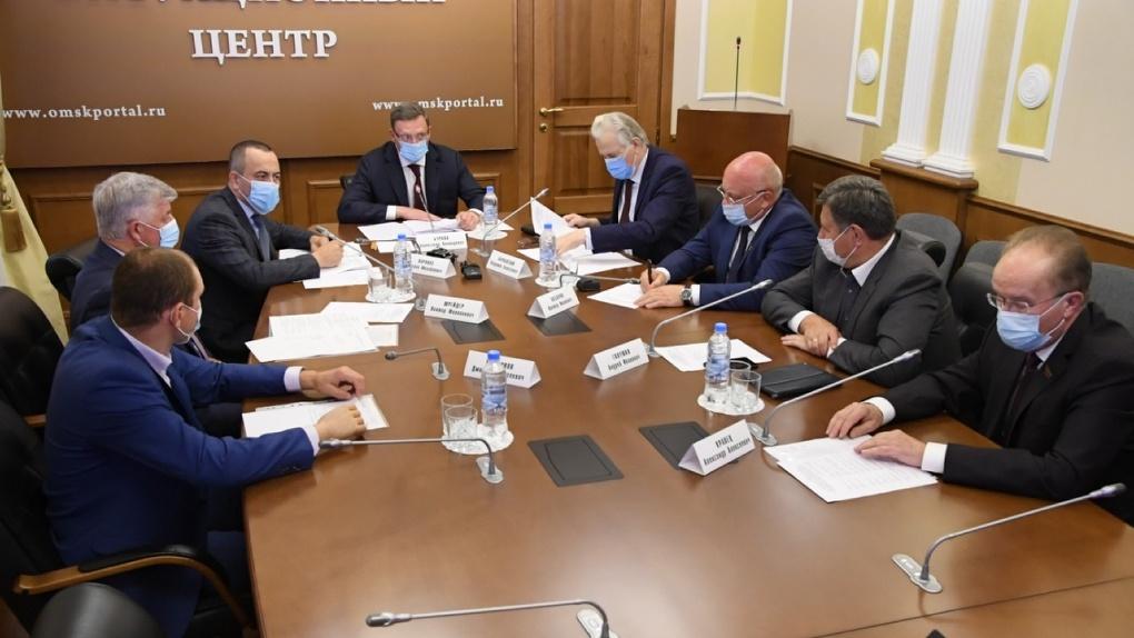 Губернатор Омской области поднял вопросы по проблемам экологии на федеральный уровень