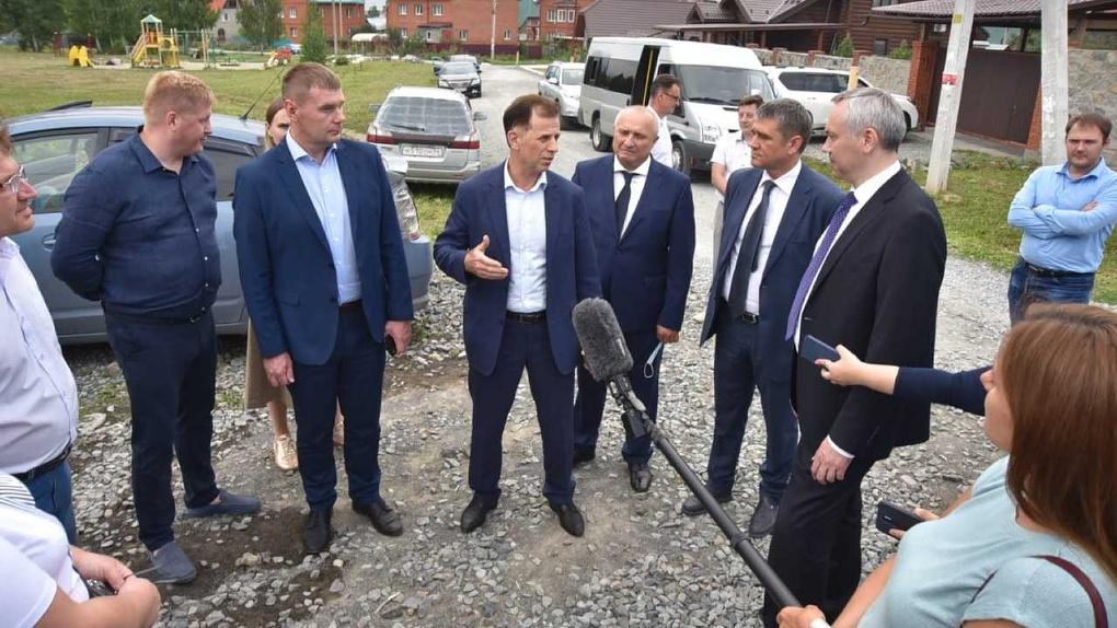 Дорогу на улице Скрябина в Новосибирске сделают безопасной к концу сентября