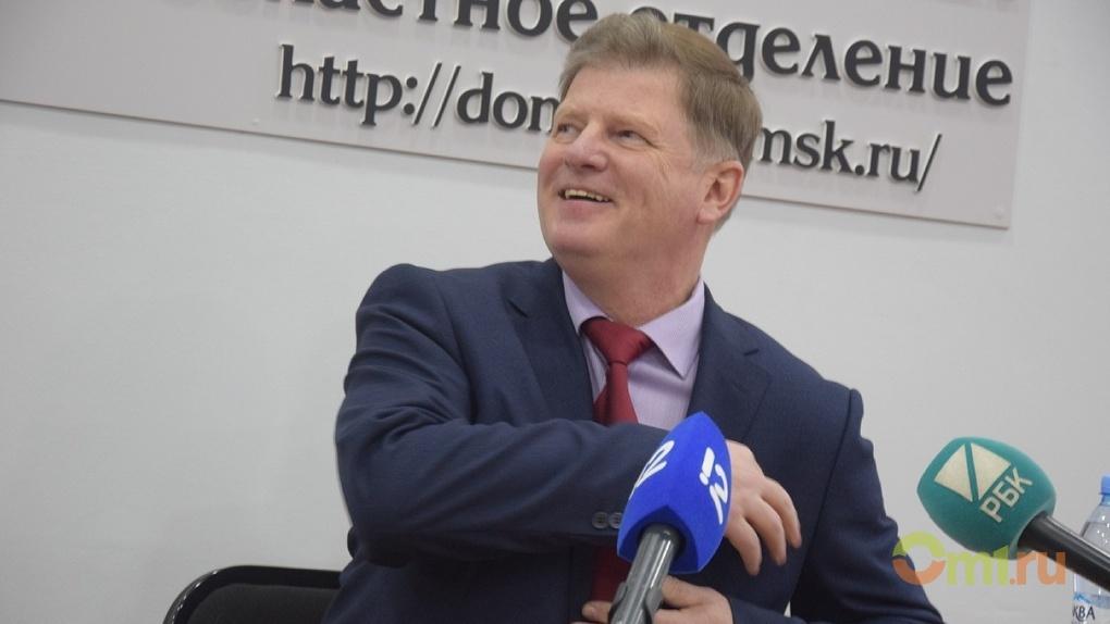 Владимир Корбут поблагодарил омских врачей за спасение жизней