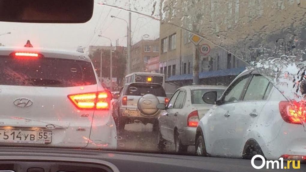 Омск попал в аутсайдеры рейтинга аварийности на российских дорогах