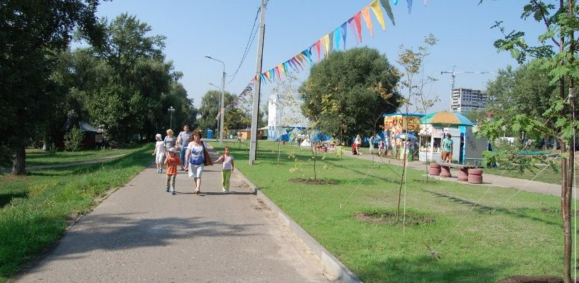 В парк «Зеленый остров» омичи не смогут заезжать на автомобилях